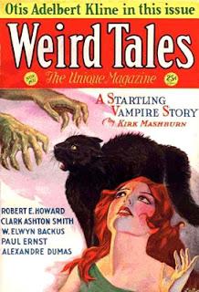 Portada de Weird Tales
