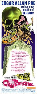 poster original de cry of the banshee