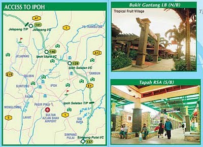 Famili Hjh Robiah Hj Musa Peta Jalan Di Malaysia