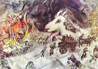 The War, by Marc Chagall