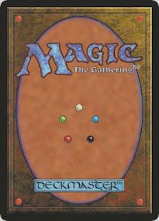 Reverso de una carta de Magic: The Gathering