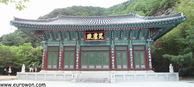Templo budista en Gunwi