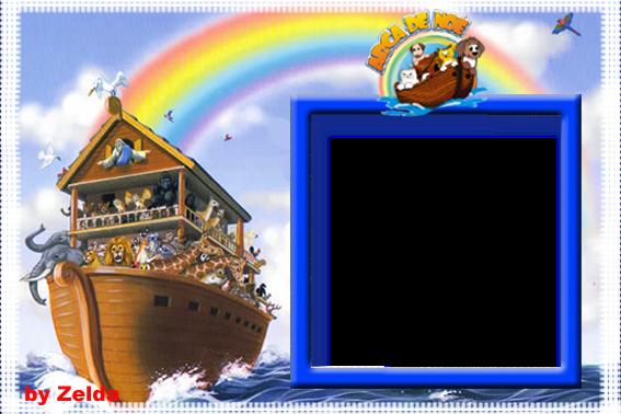 Artes Da Zelda: Novas Molduras Em PNG Arca De Noé