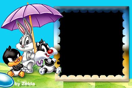 Artes Da Zelda Novas Molduras Em PNG Baby Looney Tunes
