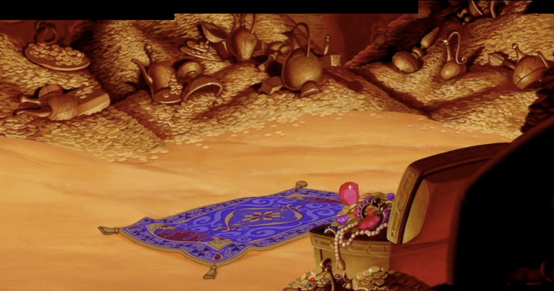 Animation Backgrounds Aladdin S Cave Of Wonders