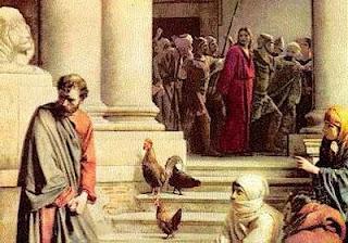 Marcos discorda da negação de pedro
