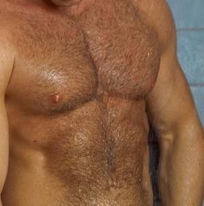 shaved gay asshole close up