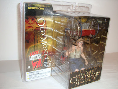 Movie Maniacs 7  The Texas Chainsaw Massacre - Old Monty (McFarlane) 3b5d6e13c3