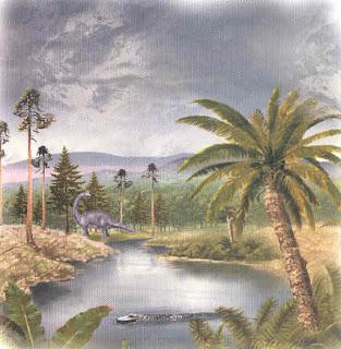 Resultado de imagen para donde vivian los dinosaurios