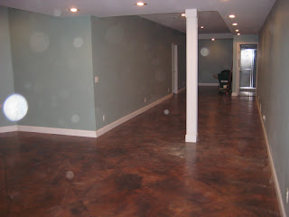 Murals By Randy Howell Decorative Concrete Floor Painting