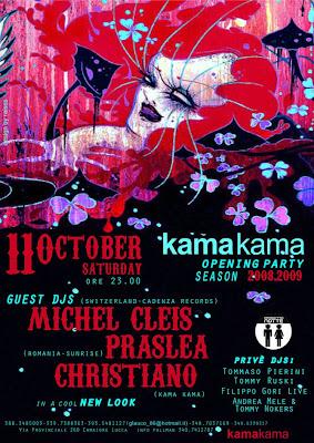 pillole elettroniche: kama kama opening party