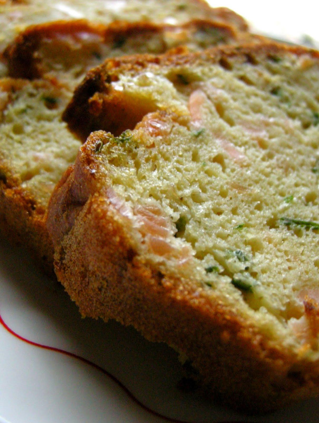 Cake Au Saumon Ciboulette Citron Trzduction