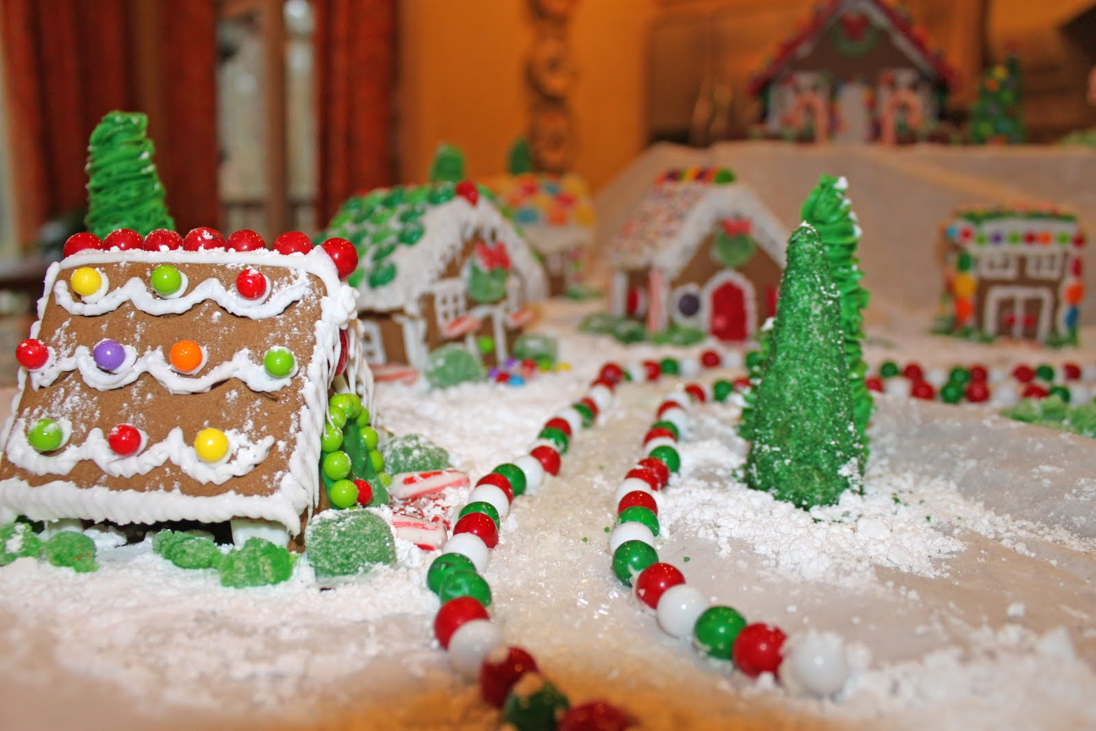 Amanda's Parties To Go Gingerbread House Village