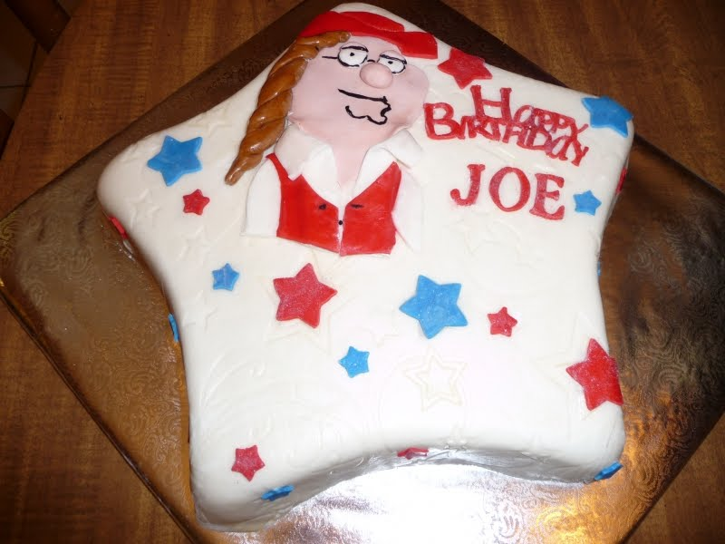 Terrific Icing On Top Cakes For Every Occasion Family Guy Birthday Cake Personalised Birthday Cards Veneteletsinfo