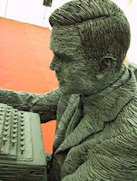 Details of the new statue