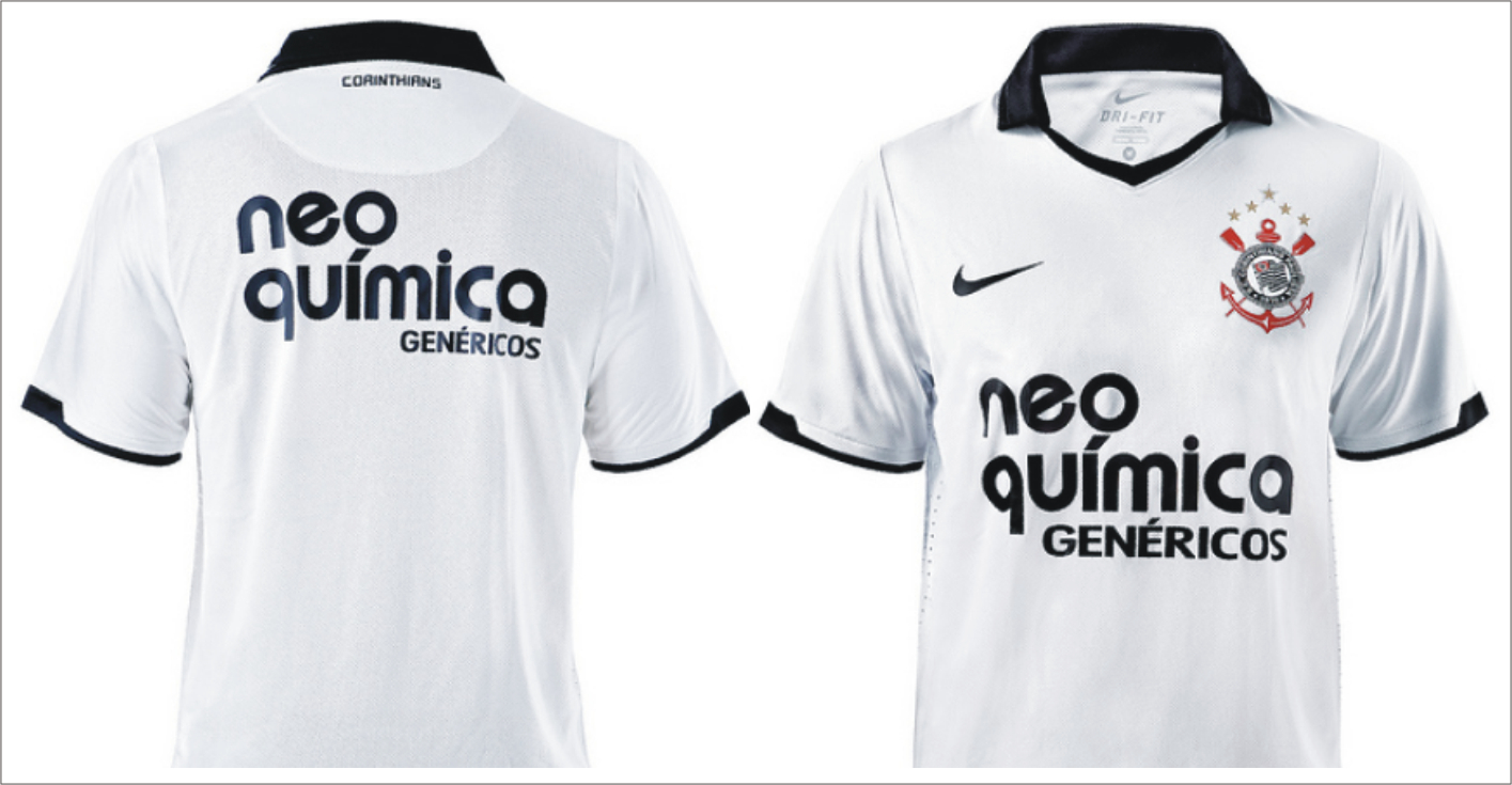 c96214efe1965 Futbol Digital  Nueva camiseta de Corinthians 2011.