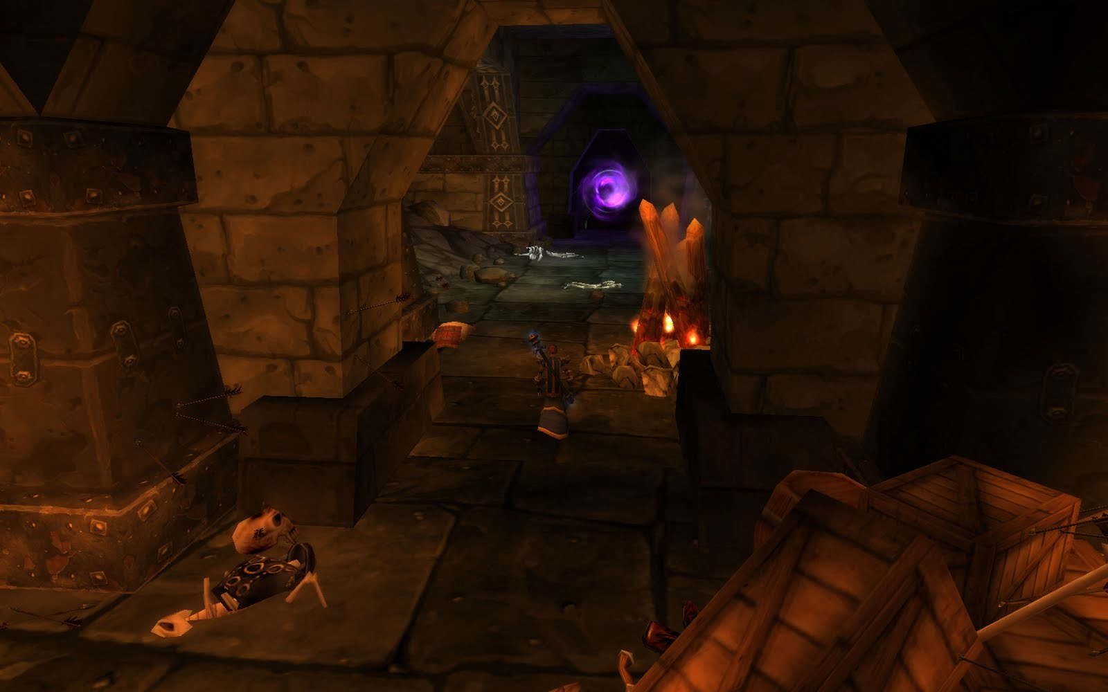 Blackrock Caverns entrance - WoW Cata Instance