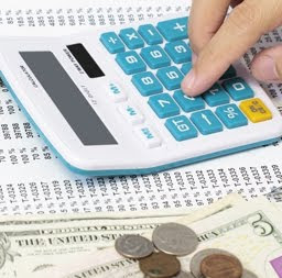 Small business owners bookkeeping