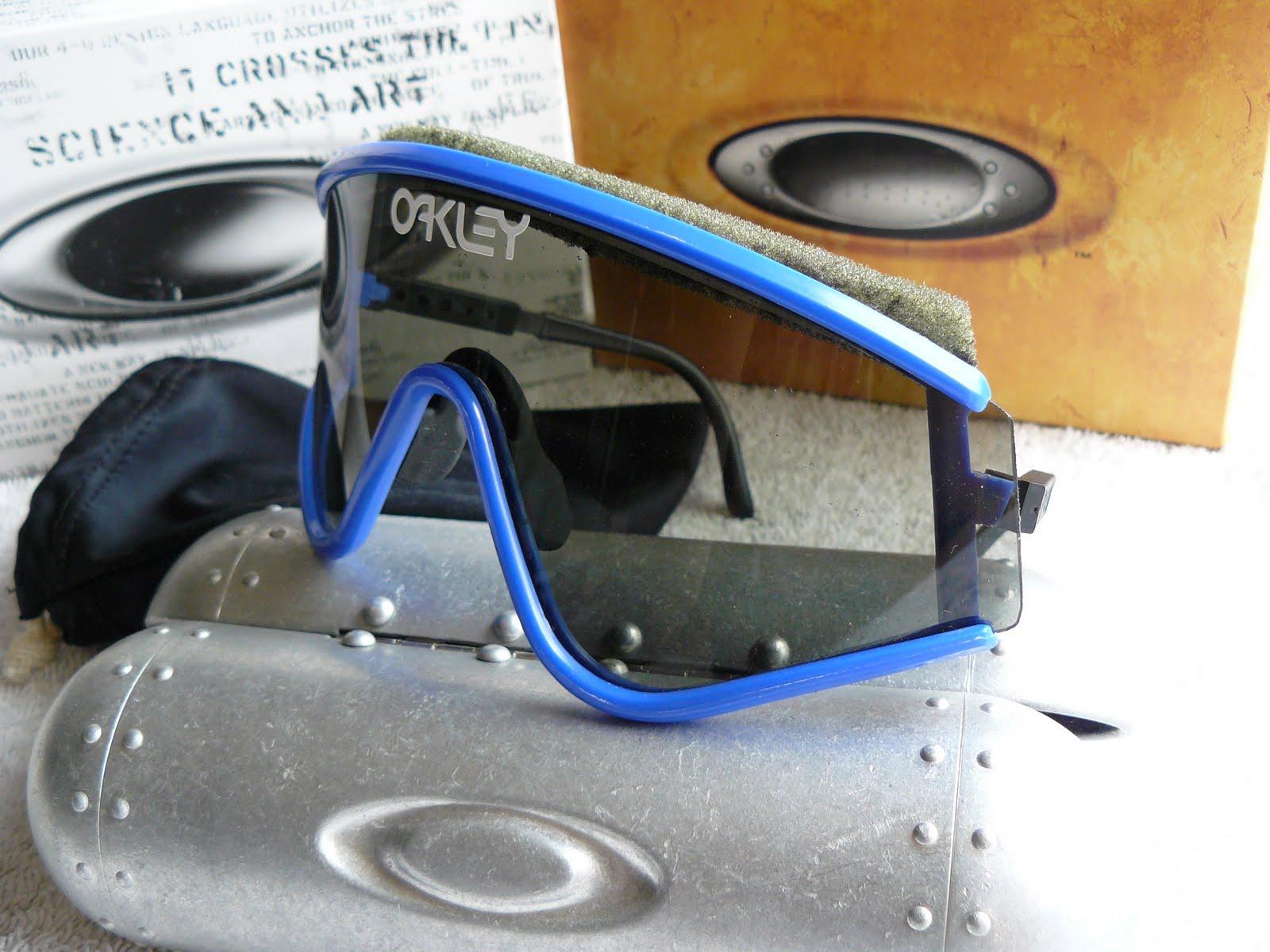 dcd47084b451 Eyeshade Factory Pilot (1984) Blue frame with Grey lenses. SKU 03-012