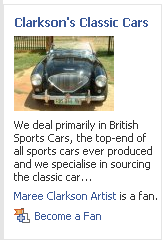Classic Cars on FaceBook