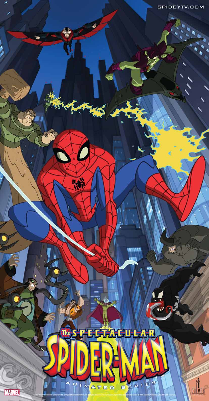 Big Freaky Theory: Spectacular Spiderman: Animated Series - photo#30