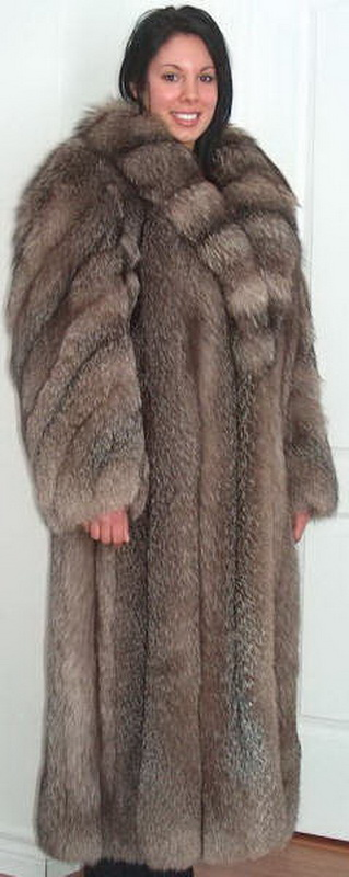 Lafourrure2 Nice Crystal Fox Fur Coat