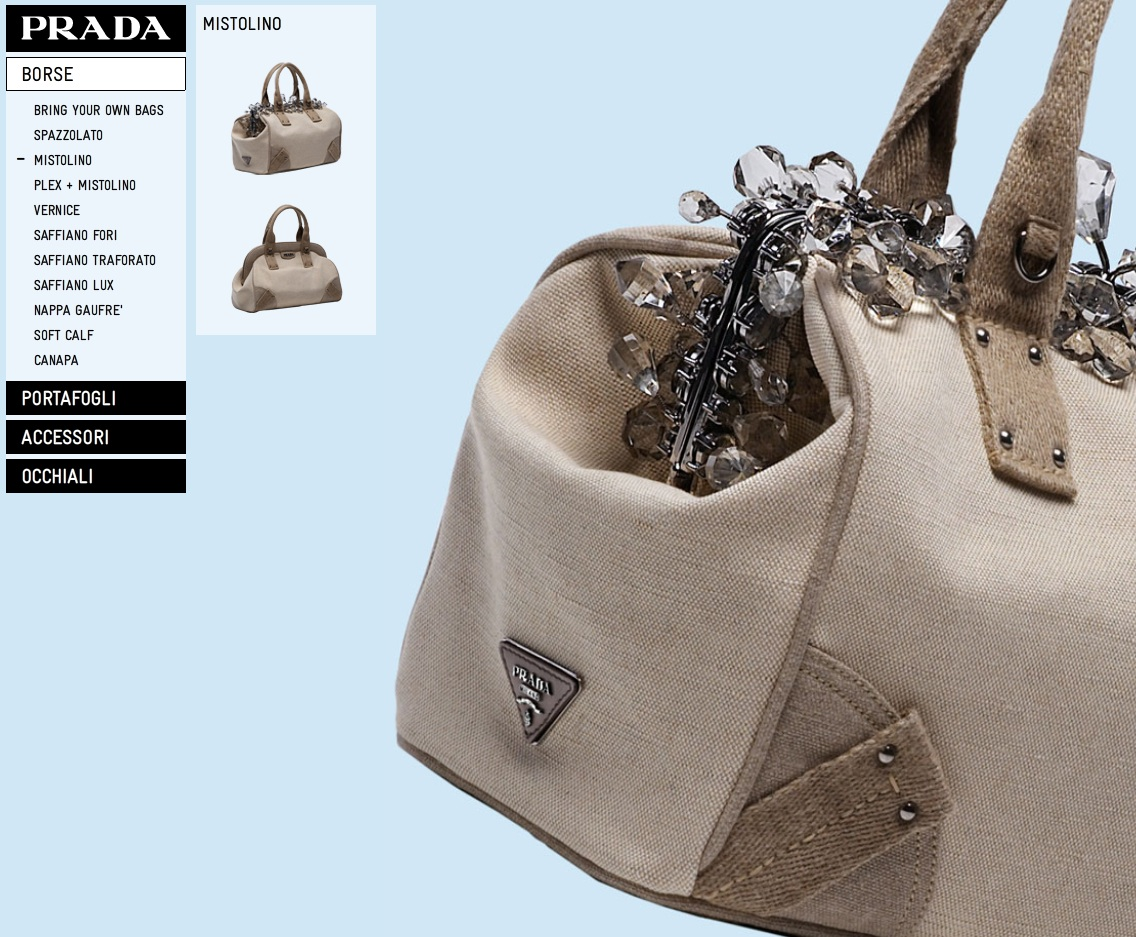 6e16f6190 Prada is launching online shopping to US customers, according to  Fashionista. The e-store is set to open Thursday, July 1 and it will mark  the first time US ...
