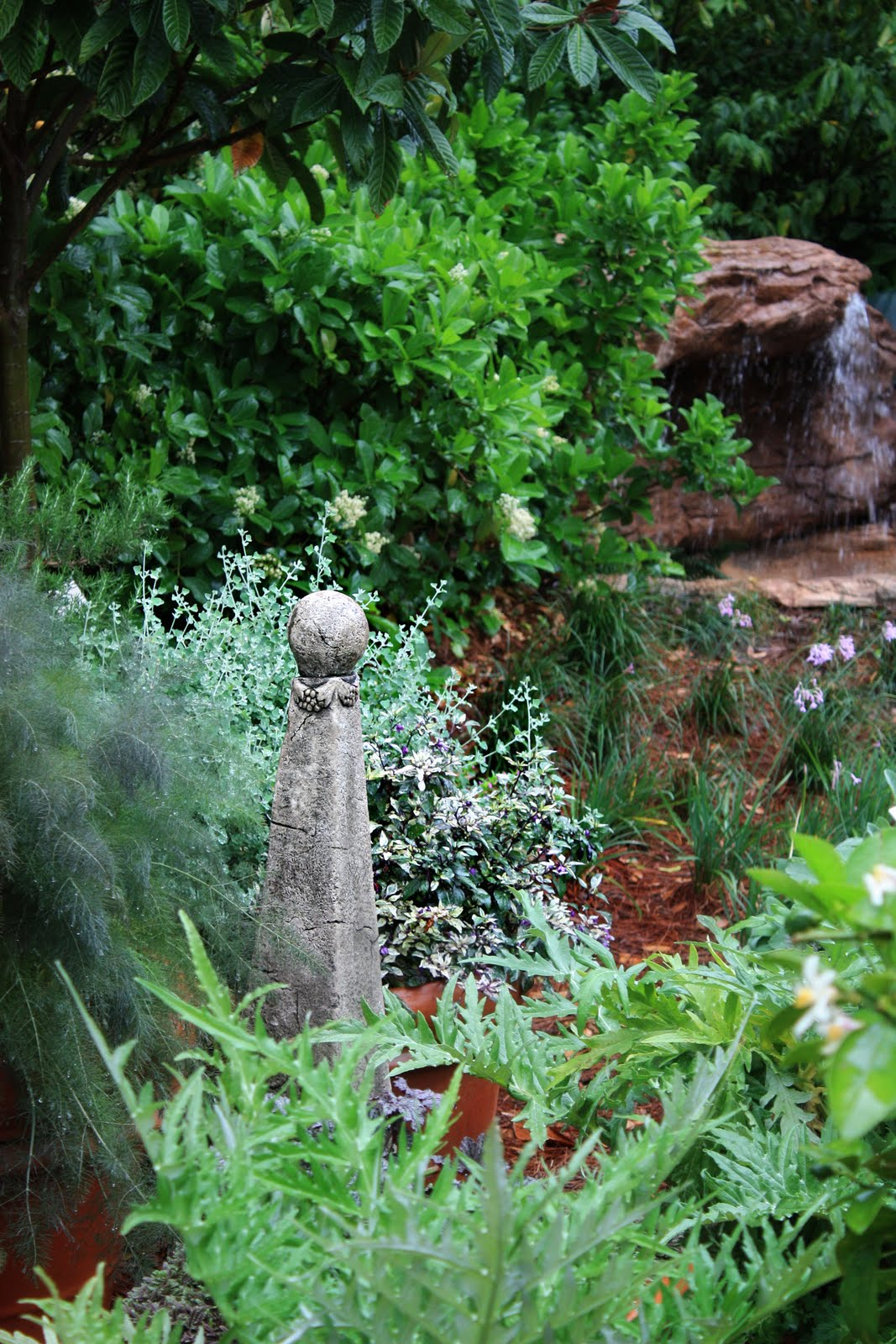 erin's art and gardens: tuscan inspired garden