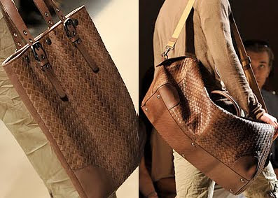 Here s more from the Spring-Summer 2010 Mens Bottega Veneta collection. Style  called them  bags (that) are never anything less than unambiguously ... 86c09a32b41e1