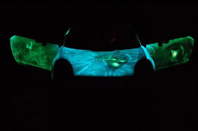 carzspot glow in dark car. Black Bedroom Furniture Sets. Home Design Ideas