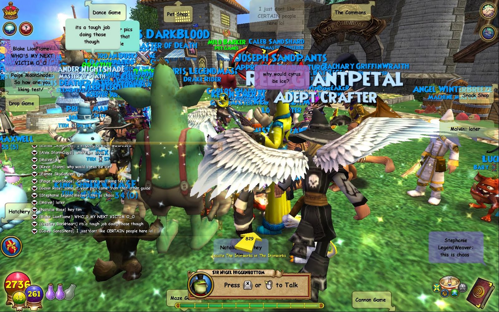 The Friendly Necromancer: Couple Pictures from the Test Realm Party