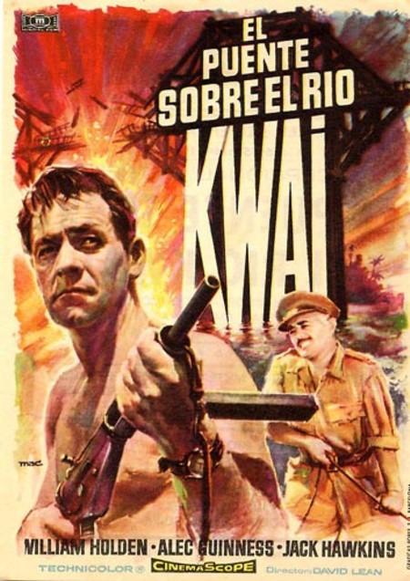 Programa de Cine - El Puente sobre el Río Kwai - William Holden - Alec Guinness