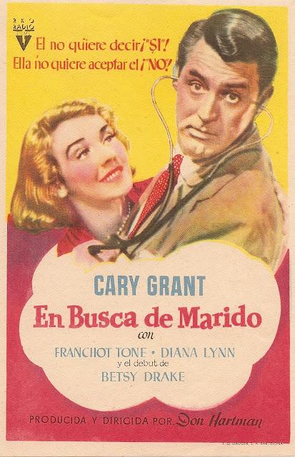 Programa de Cine - En Busca de Marido (Sencillo) - Cary Grant - Betsy Drake