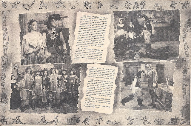 Los Tres Mosqueteros - Folleto Doble - Cantinflas