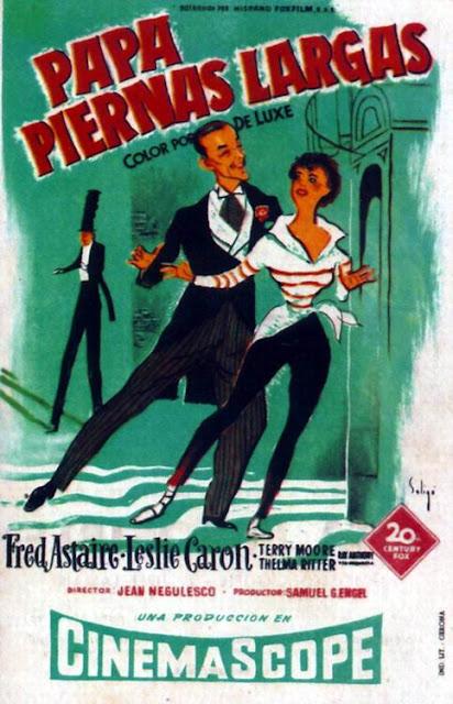 Programa de Cine - Papá Piernas Largas - Fred Astaire - Leslie Caron