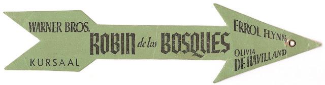 Programa de Cine - Robin de los Bosques (Flecha) - Errol Flynn - Olivia de Havilland