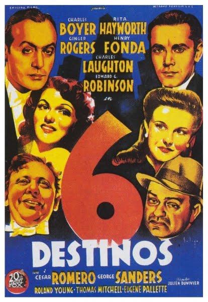 Programa de Cine - 6 Destinos (TALES OF MANHATTAN)