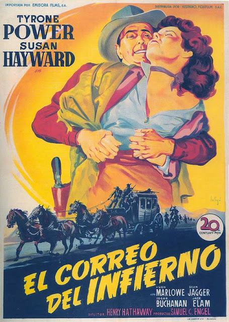 Programa de Cine - El Correo del Infierno - Tyrone Power - Susan Hayward
