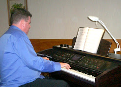 Our May 2008 Guest Artist, Chris Larking launching our new Yamaha,Clavinova CVP-305