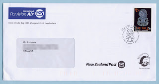 New Zealand Post Cover