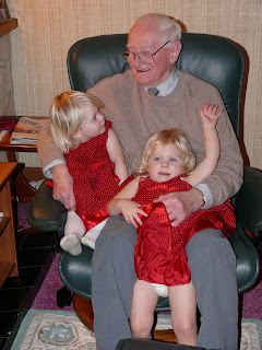 The Barringers: With great Grandpa xxx