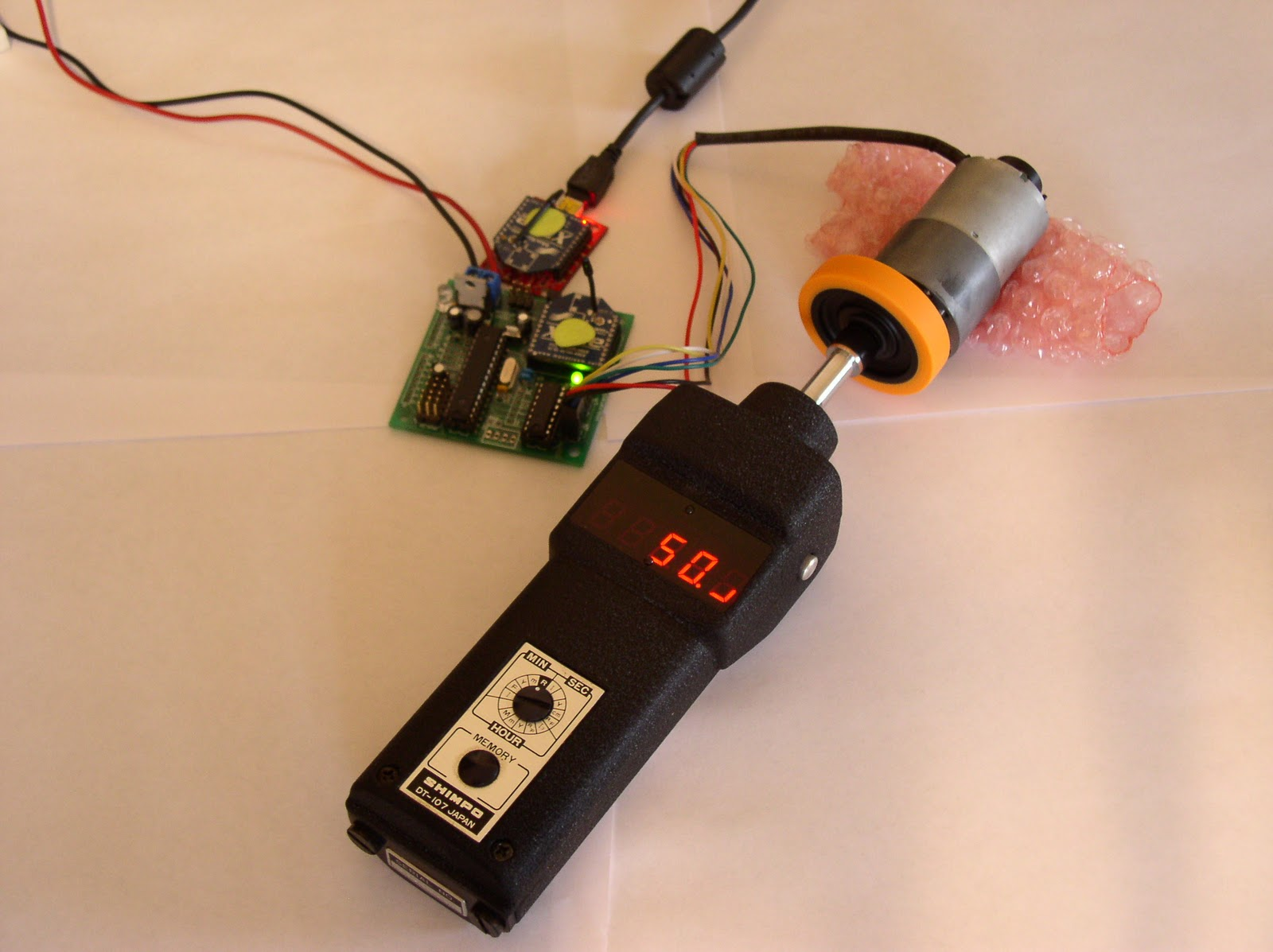 The design of dc motor driver