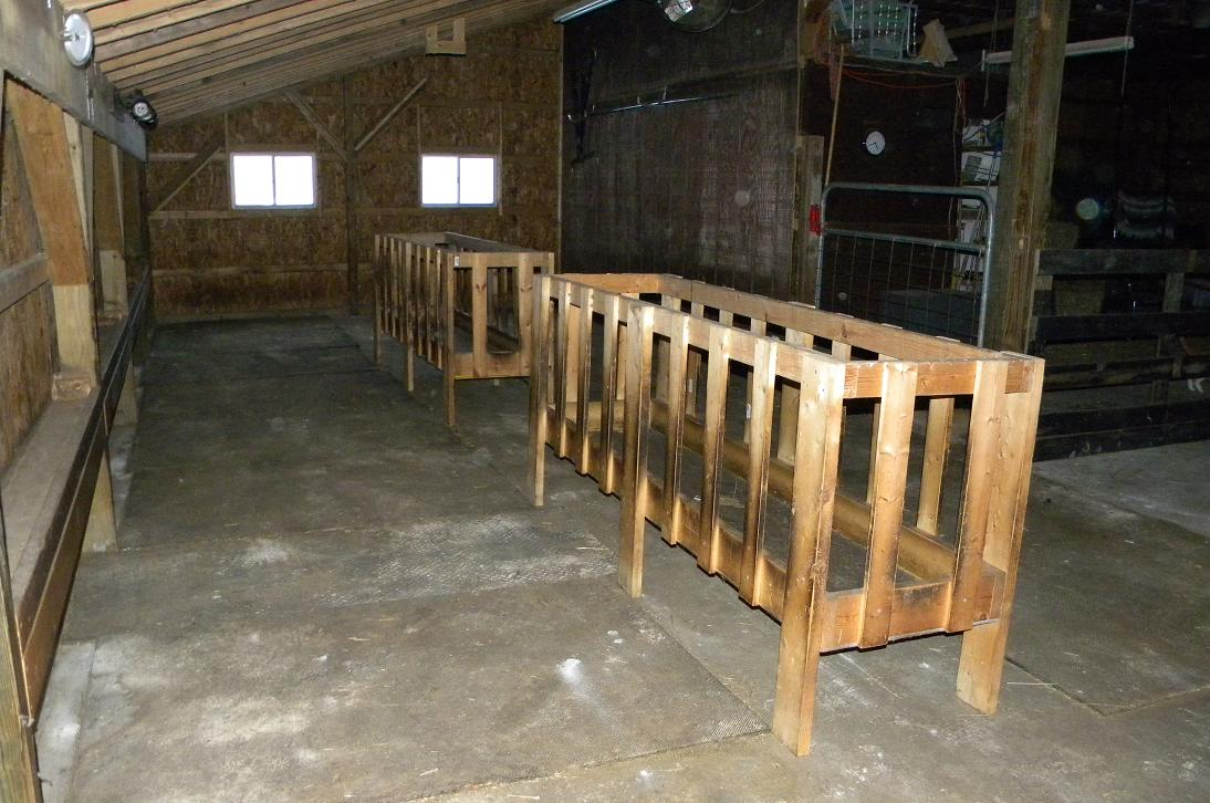 Ugly Dogs Farm Lambing Barn Is Ready To Go