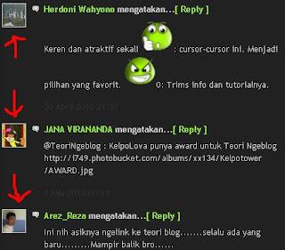 Cara memasang foto komentator pada Blogger