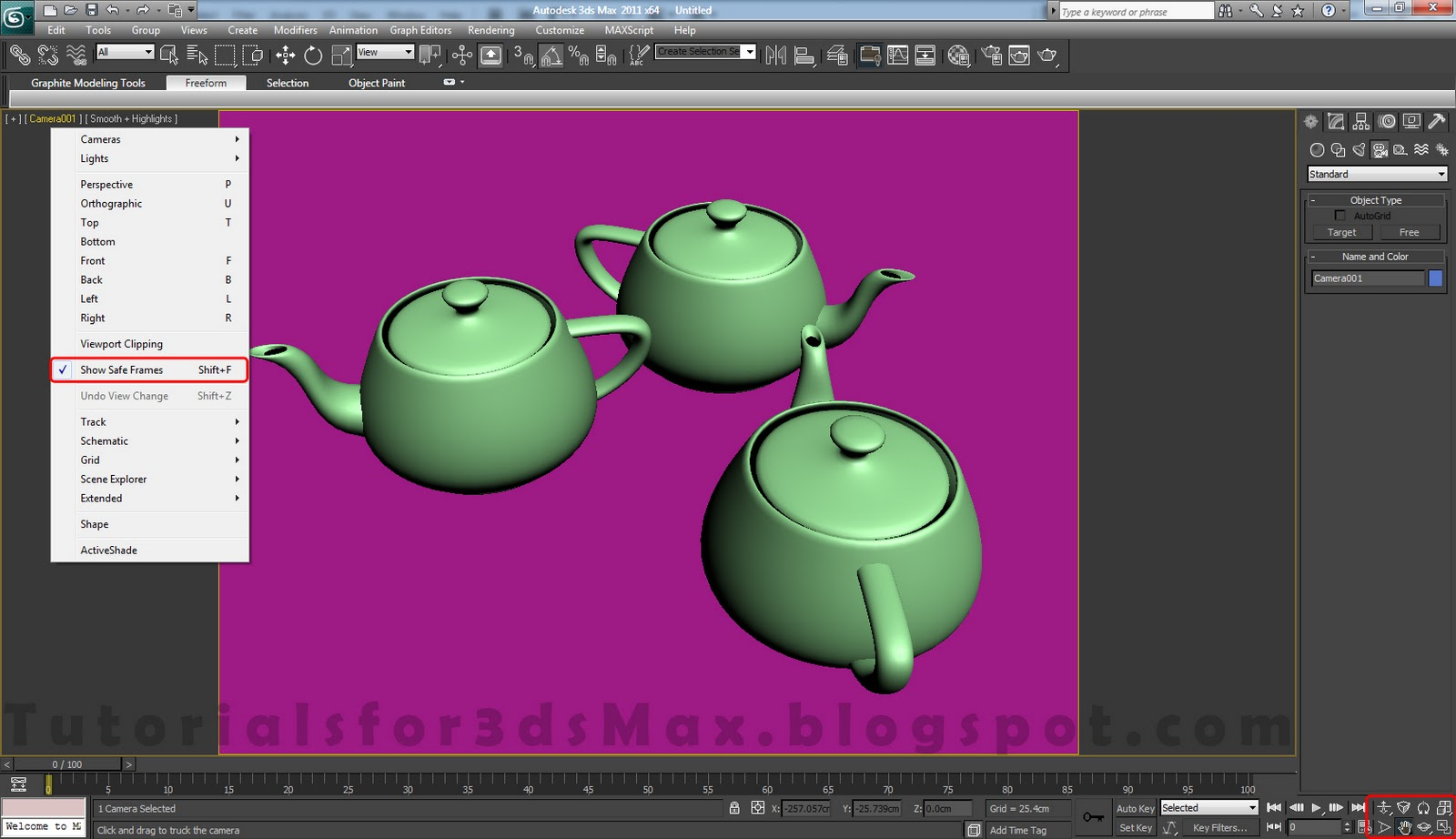 Studio Setup - 3ds Max and Vray Rendering Tutorial | Tutorials For