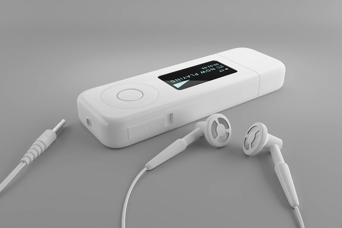 Tutorials For 3ds Max: Mp3 Player - Materials, Lights and