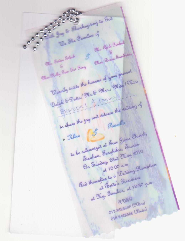 Contoh Paper Contoh Mid Year Exam Tahun 2 Bahasa Inggeris Ivys Wedding Planner Wedding Invitation Card