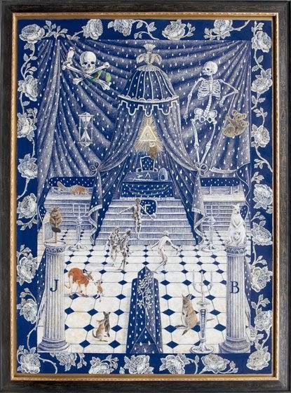 R K Name 3d Wallpaper All Things Masonic Art Work From Rite To Ritual