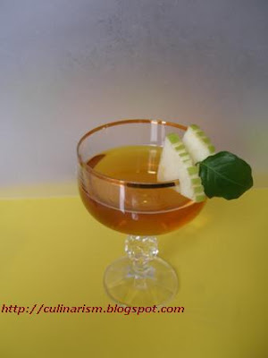 garnish drink apples
