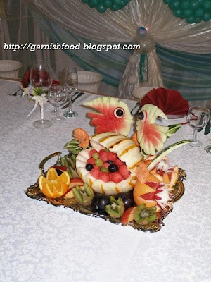 melon seashell basket
